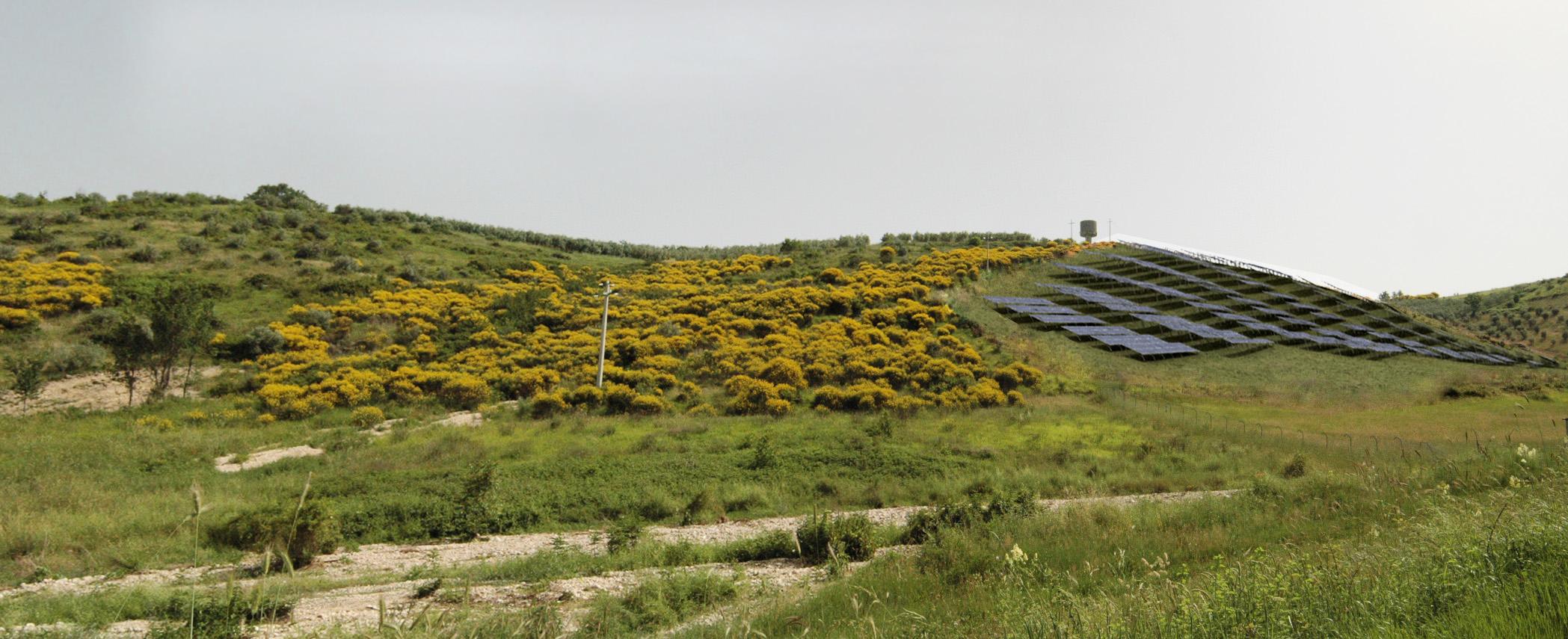 Progetto Campo Fotovoltaico