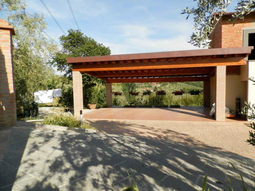 Progettazione Esterni Casa : Progettazione e realizzazione esterni casa colonica a carmignano