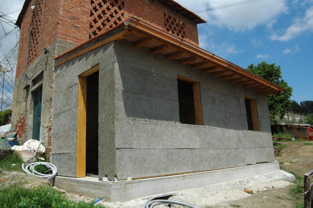 progettazione e realizzazione esterni casa colonica a