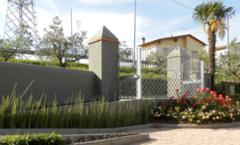 Progettazione e realizzazione esterni Casa Colonica a Carmignano